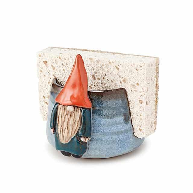 gifts for grandma: gnome sponge holder