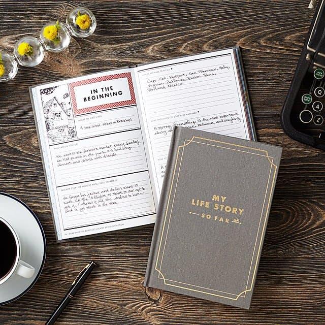 best gift for grandma: my life story - so far journal