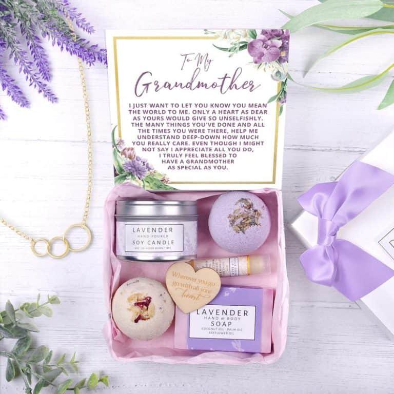 grandma gifts: spa gift box