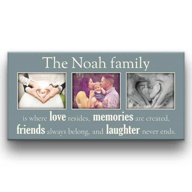 Family Is Where Love Resides Custom 3 Photo Canvas Print-9 Great Big Canvas Ideas For Decorati<!-- wp:button {