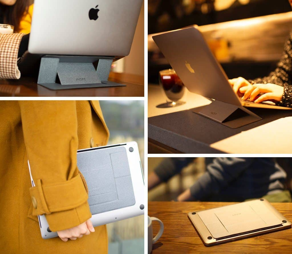 MOFT invisible laptop stand - Christmas gifts for coworkers