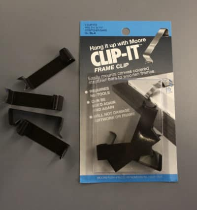 canvas clips for canvas frames