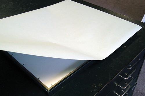 kraft paper dust cover