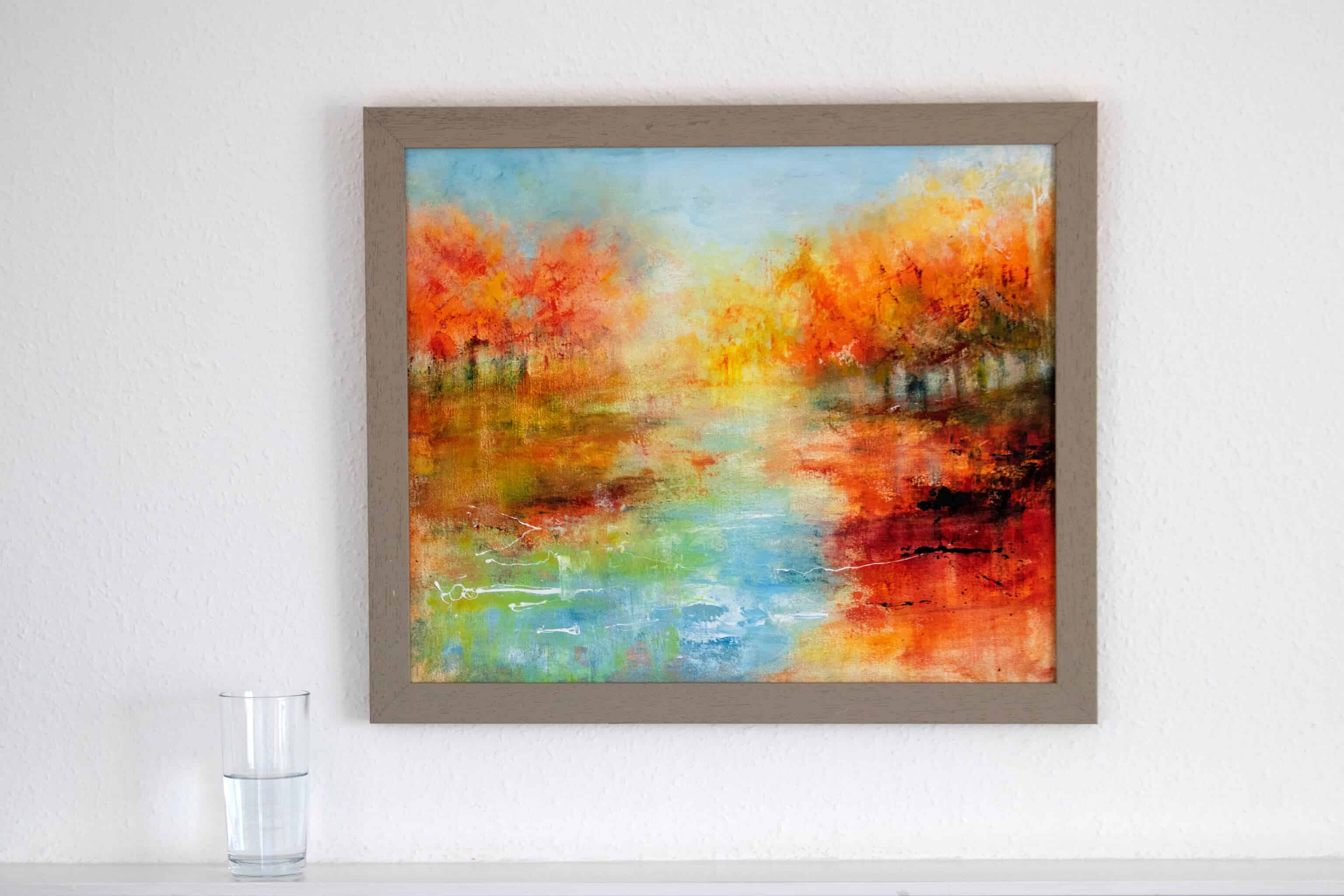 How to Frame A Canvas, The Easy Way