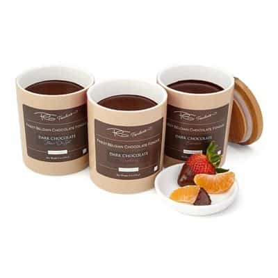chocolate fondue: fourth anniversary gift idea for her