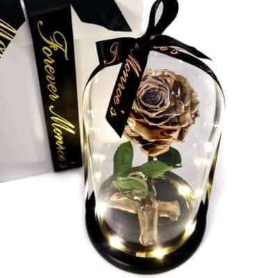 50th anniversary gift - golden rose