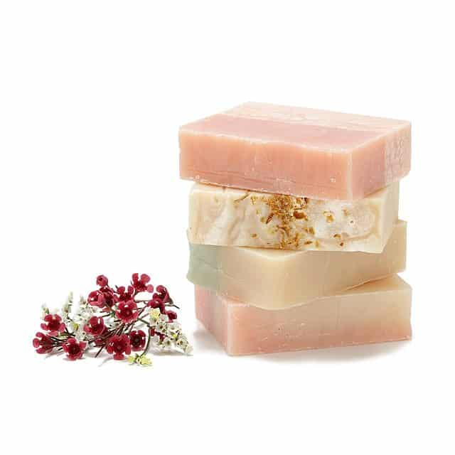 floral scented soap bars - cool sixth anniversary gift idea for her