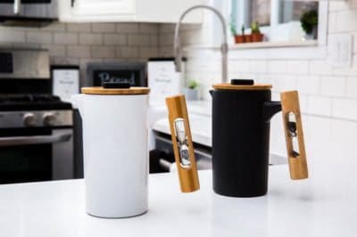 9th anniversary gifts: ceramic french press coffee maker