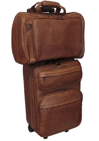 3 year wedding anniversary ideas:Leather Luggage