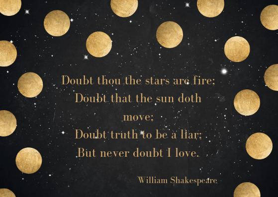 anniversary love poem by William Shakespeare