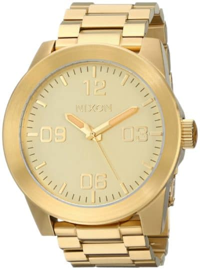traditional 50th anniversary gift for men: nixon men's watch