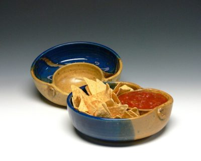 9 year anniversary idea: pair of personal chip dips