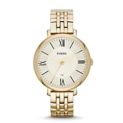 traditional 50th anniversary gift: personalized gold bracelet watch