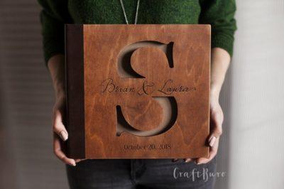 9th wedding anniversary gift: personalized wedding photo album
