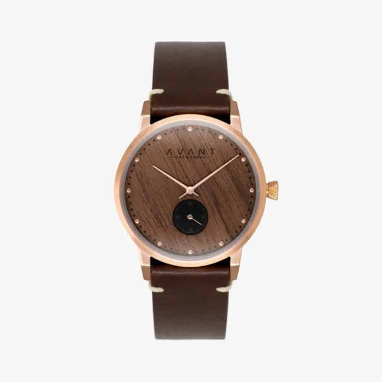 6th yr anniversary gift for him: custom wooden watch