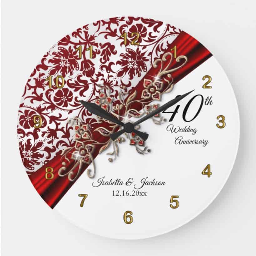 Keepsake Large Clock