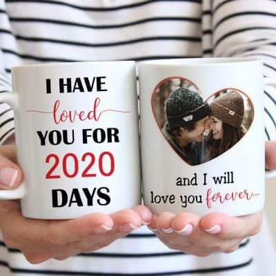 I Have Loved You For # Days Custom Photo Mug