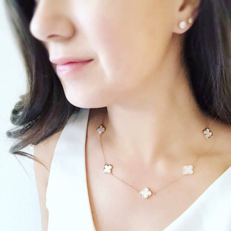 first anniversary gift for her - pearl necklace