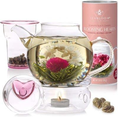 Teabloom Eternal Love Flowering Tea Gift Set