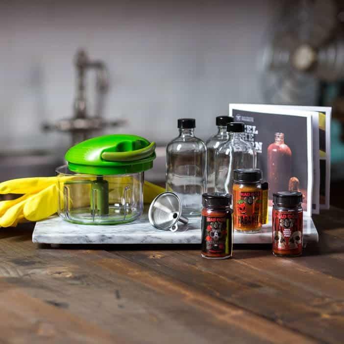 hot sauce gifts: hot sauce making kit