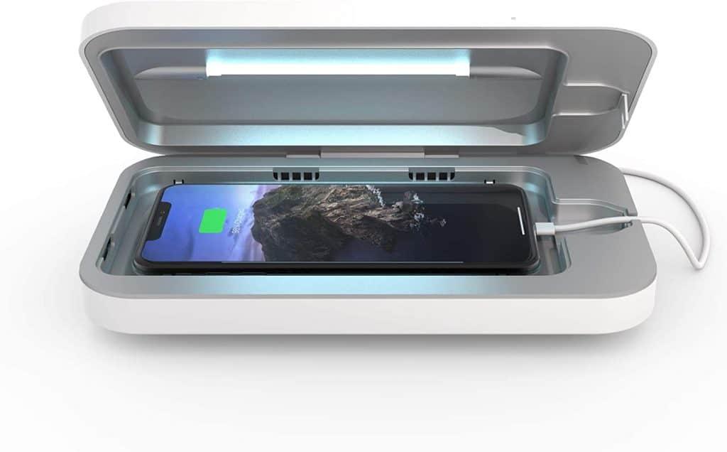 good gifts for him: smartphone sanitizer