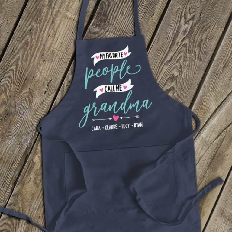 unique gifts for grandma - apron