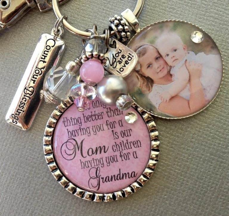 presents for great grandma - keychains