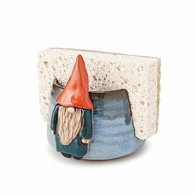 gifts to send for mother's day - gnome sponge holder