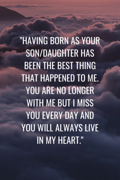 touching mothers day messages for deceased mother