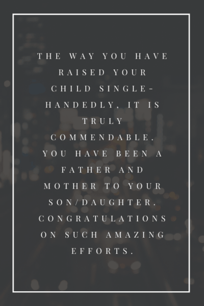 mother's day card sayings for single mom
