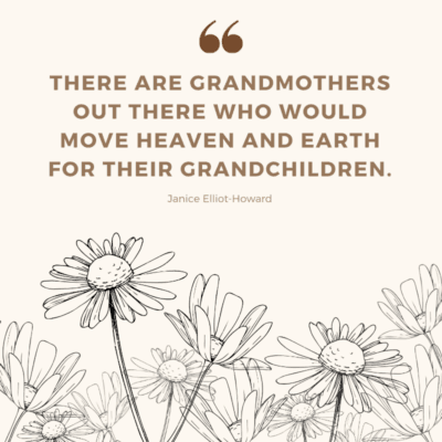 a Mother's Day quote for grandma - There are grandmothers out there who would move heaven and earth for their grandchildren.