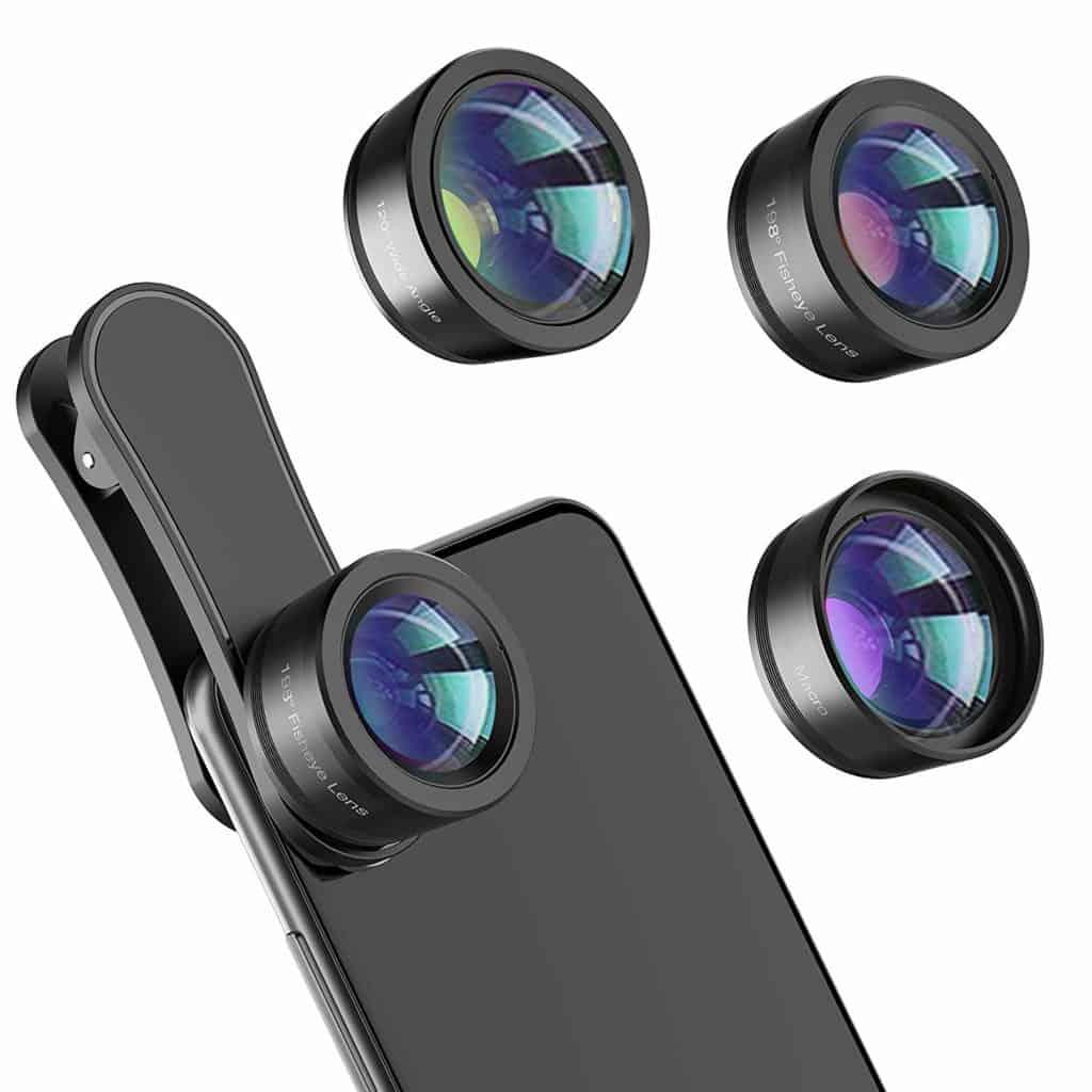 3 in 1 Phone Lens kit for photographer women