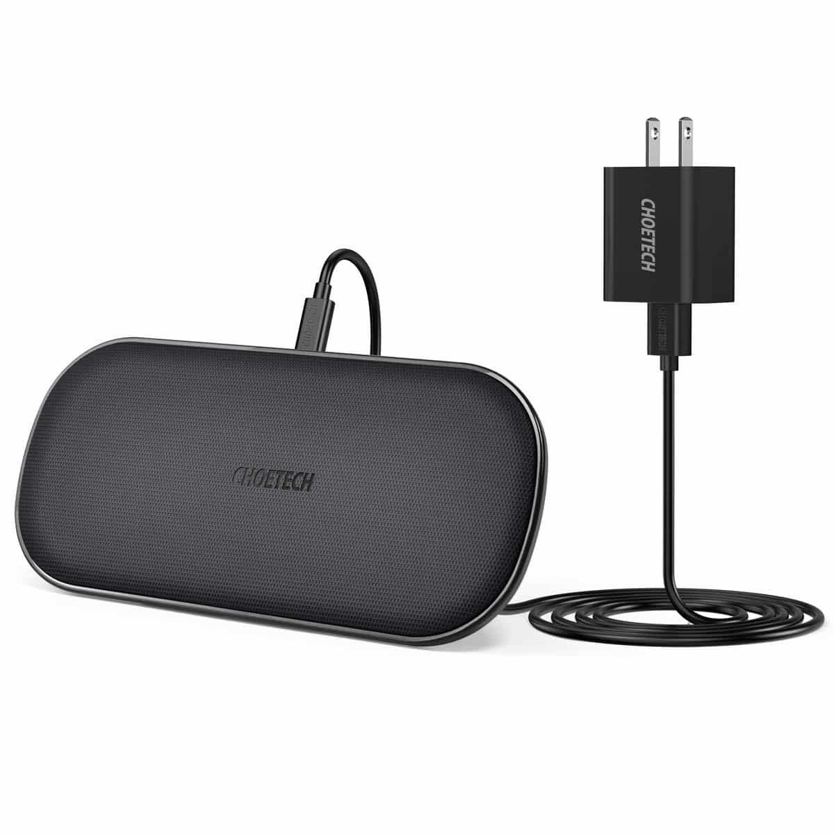 CHOETECH Dual Wireless Charger - Tech gift for women