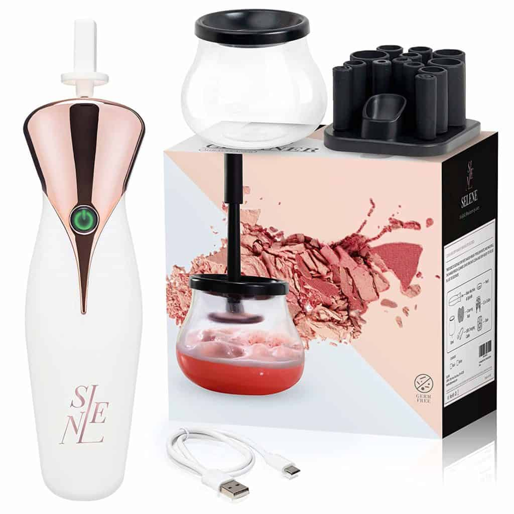 Makeup Brush Cleaner - A thoughtful tech gift for women