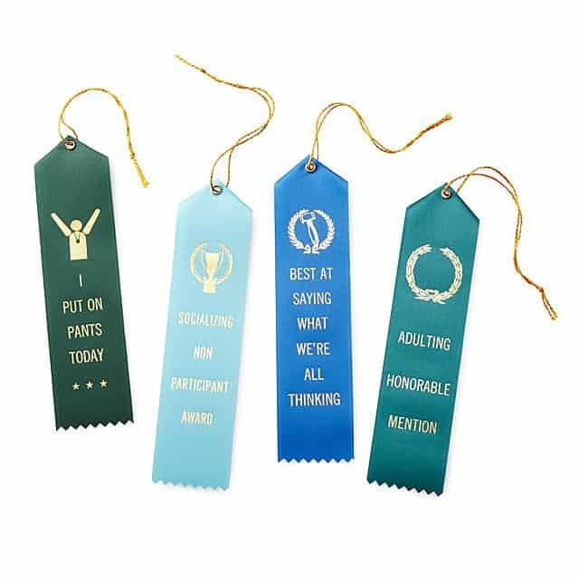 adult award ribbons - hilarious gag gifts