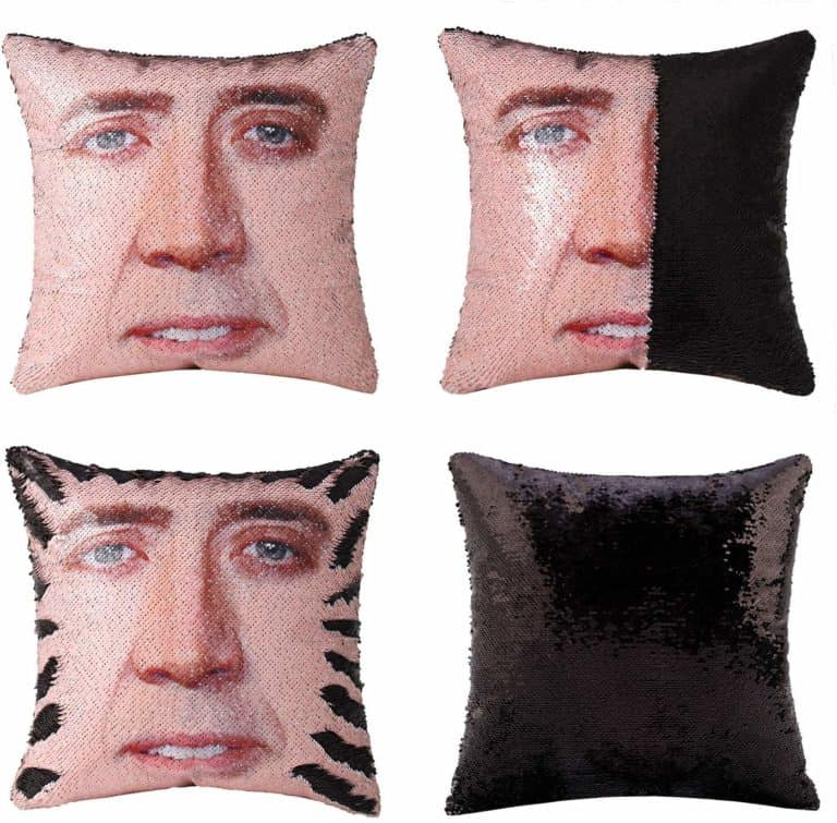 pillow cover - funny gag gifts for guys
