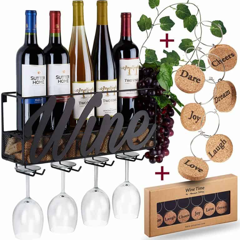 wine rack bottle - gift ideas for dad