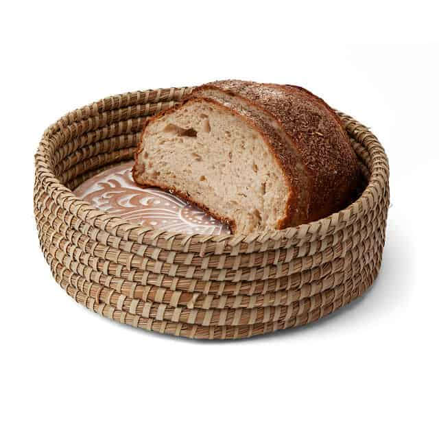 gift for bread bakers: traditional bread warming set