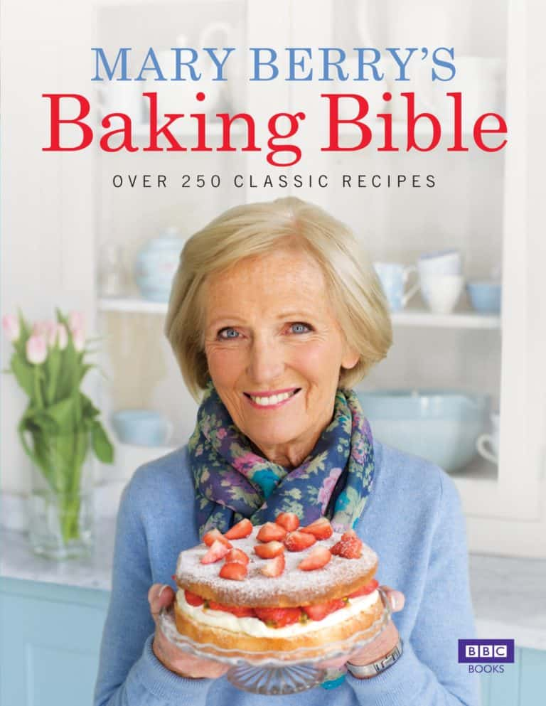 baking gift idea: mary berry's baking bible cooking recipe book