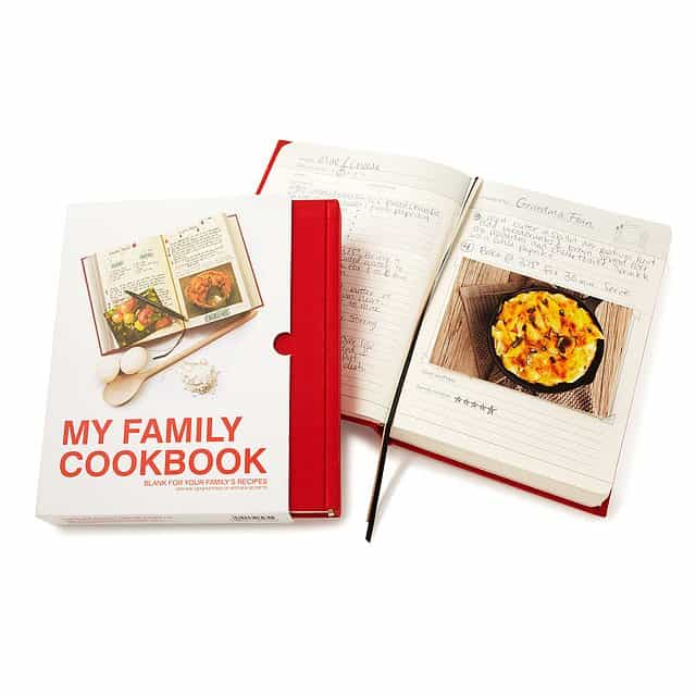 best gift for bakers: my family cookbook