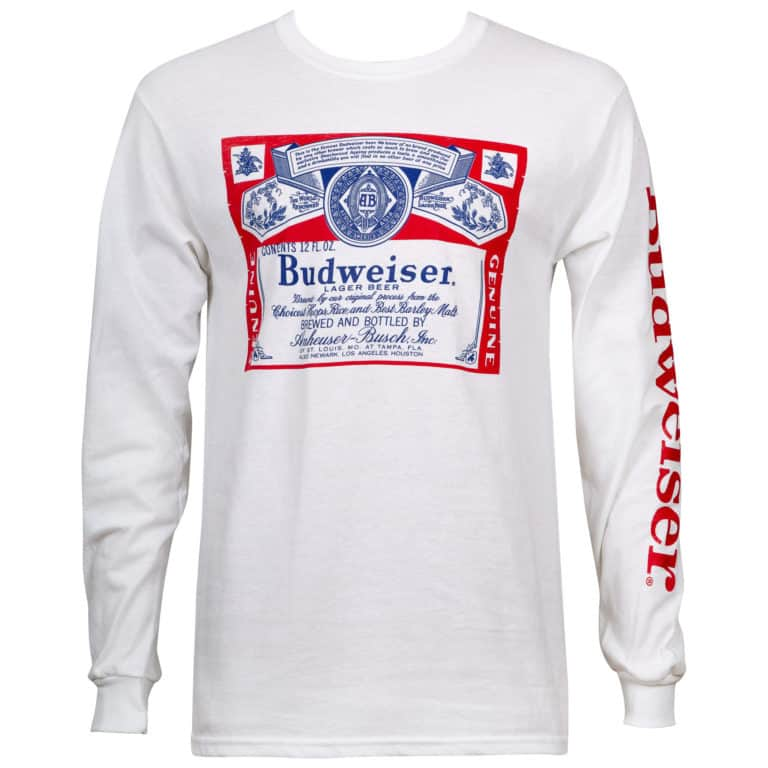 beer clothing - budweiser clothing
