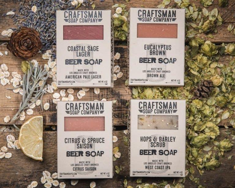 craft beer lover gift - craft soap gift set