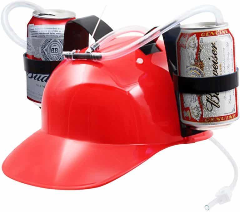 beer bottle drinking helmet