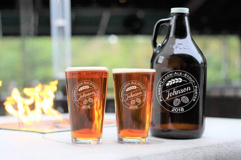 personalized beer growler