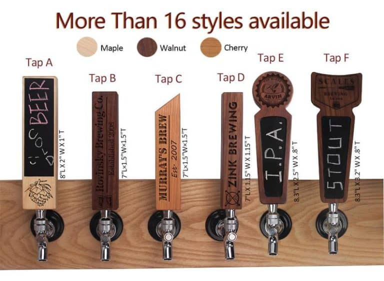 personalized homebrew gifts - tap handle