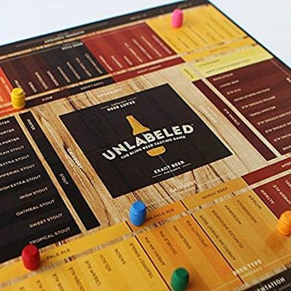 brewer game - the blind beer tasting board game