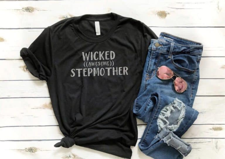 stepmom tshirt bonus gifts