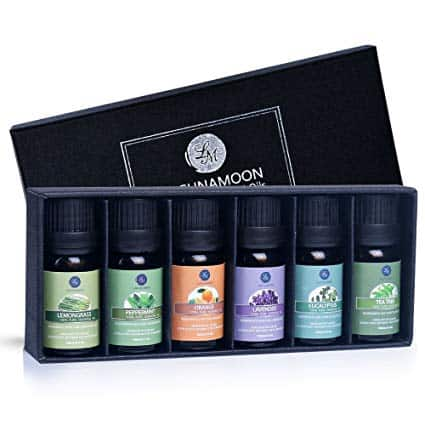 instant birthday gifts: 6 gift set pure essential oils for diffuser