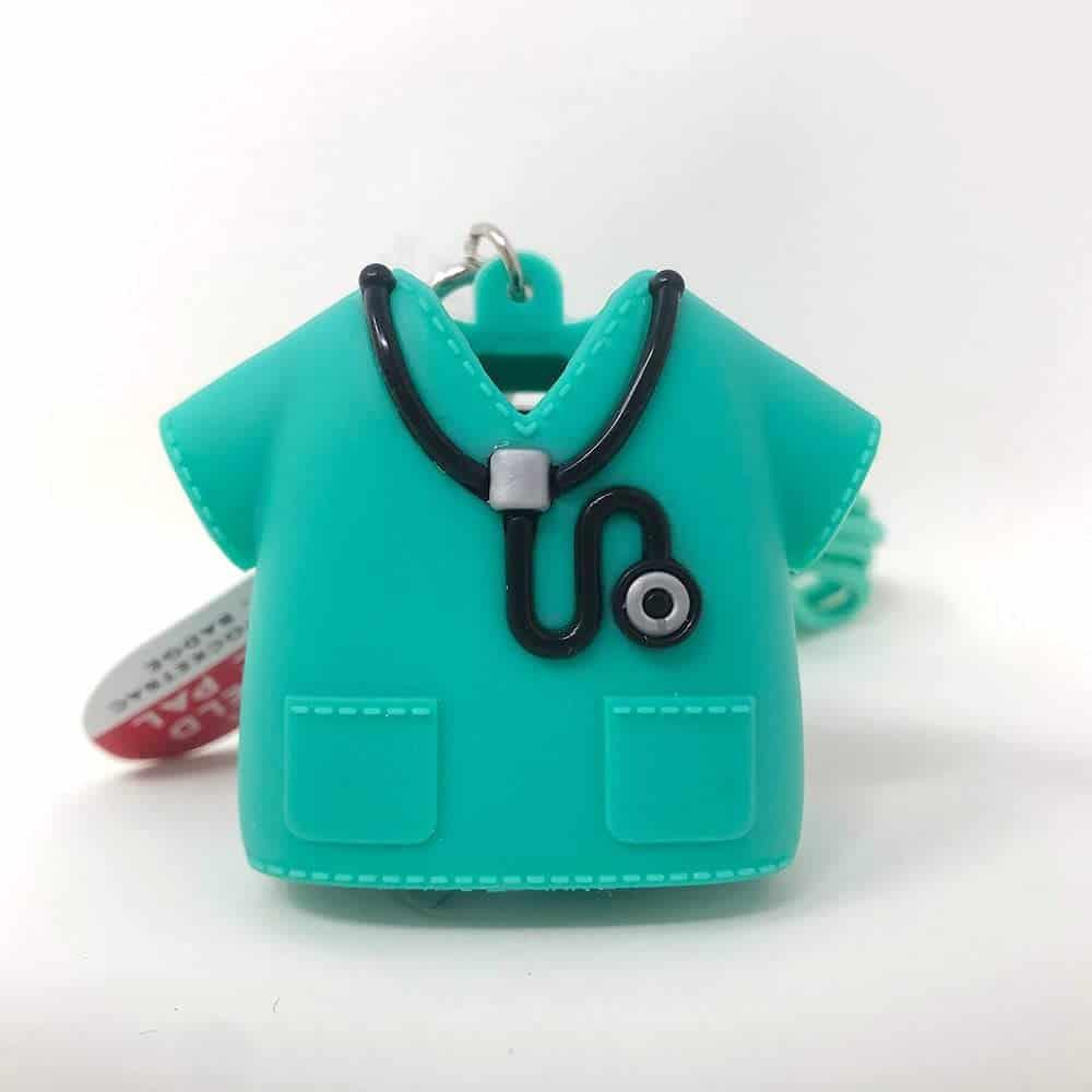 Hand Sanitizer Holder - Green Medical Scrubs STYLE