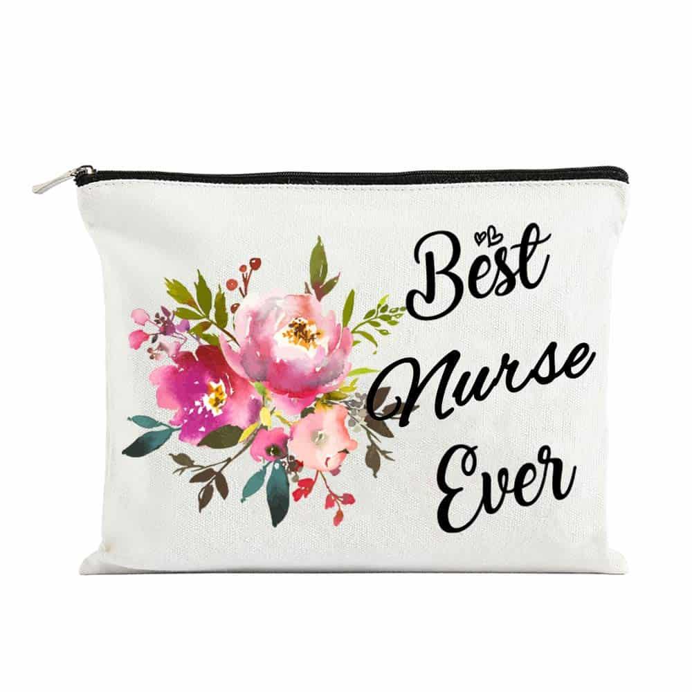 Best Nurse Ever Cosmetic Bag